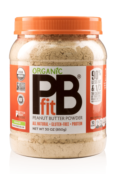 30 oz container of sugar free peanut butter powder