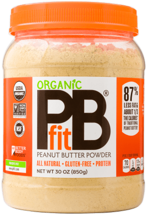 PBfit Organic Peanut Butter Powder 30oz